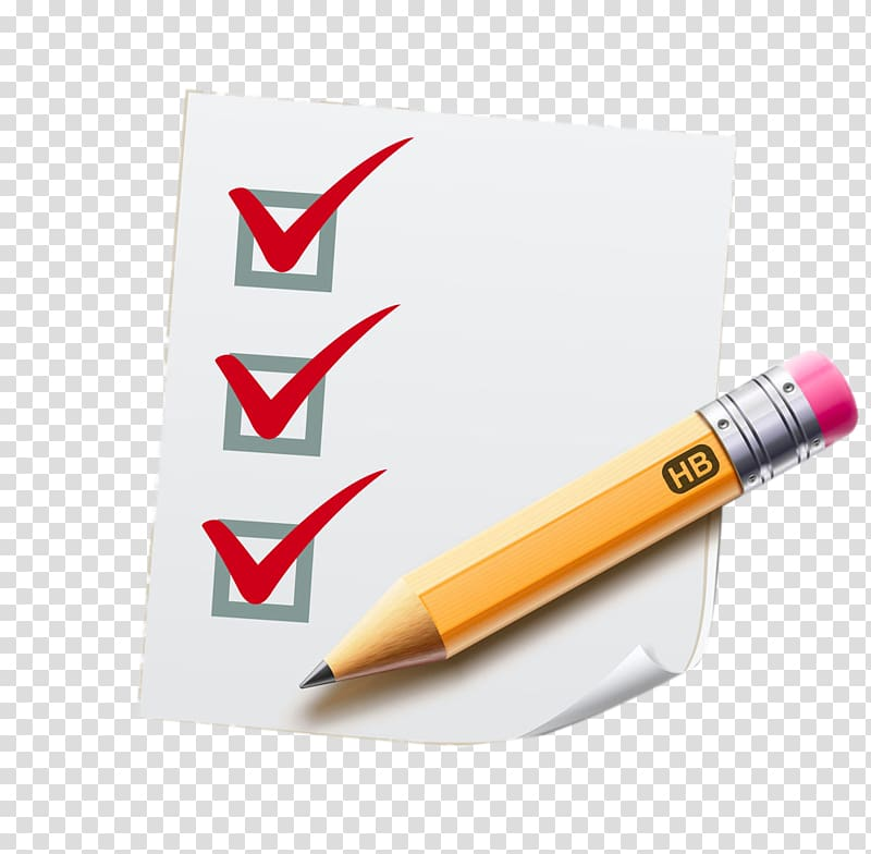 Writing checklist clipart picture library Checklist , Scratch paper and pencils transparent background ... picture library
