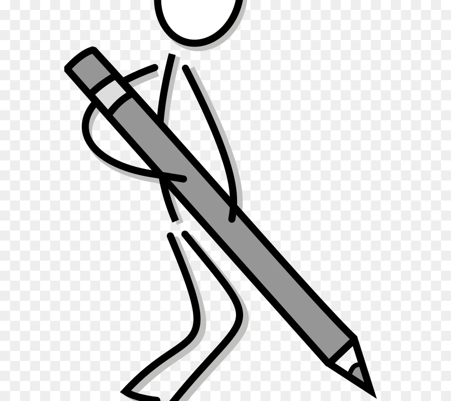 Writing clipart stick figure graphic freeuse download Black Line Background png download - 648*800 - Free ... graphic freeuse download