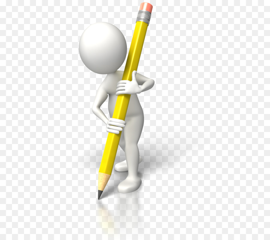 Writing clipart stick figure image free stock Pencil Clipart png download - 550*800 - Free Transparent ... image free stock