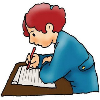 Writing in a book clipart black and white Author writing a book clip art - ClipartFox black and white