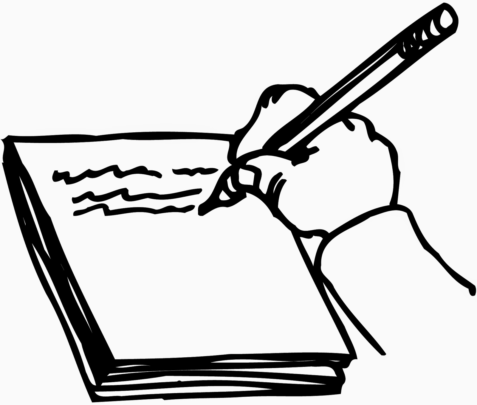 Writing in a book clipart jpg library download Writing a Will Clip Art – Clipart Free Download jpg library download