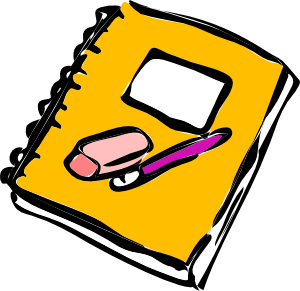 Writing in a book clipart image library stock Writing A Book Clipart - Clipart Kid image library stock