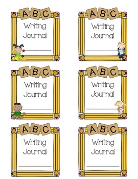 Writing labels clipart clip black and white download Writing Journal Labels clip black and white download