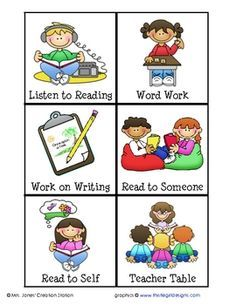 Writing stations clipart image transparent library Free download Daily Class Work Clipart for your creation ... image transparent library