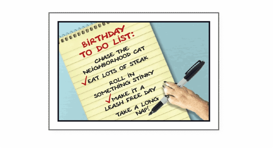Writing to do list on clip board clipart svg library Birthday To Do List - Writing Free PNG Images & Clipart ... svg library