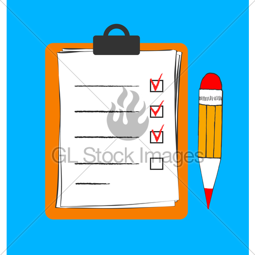 Writing to do list on clip board clipart graphic transparent library To Do List Icon In Doodle Sketch Lines. Office Report Inf ... graphic transparent library