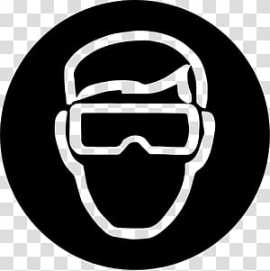 Wrong safety glasses clipart graphic black and white Safety harness Eye protection Personal protective equipment ... graphic black and white