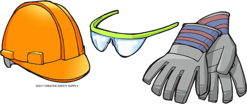 Wrong safety glasses clipart vector freeuse stock Crane Safety | Creative Safety Supply vector freeuse stock