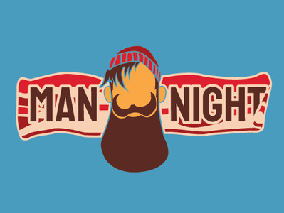 Wrong school night clipart banner freeuse stock Man Night by Laura Anne Haywood on Dribbble banner freeuse stock