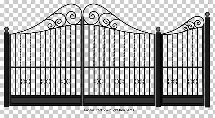 Wrought iron gate clipart clip library library Gate Fence Wrought Iron Steel PNG, Clipart, Angle, Area ... clip library library