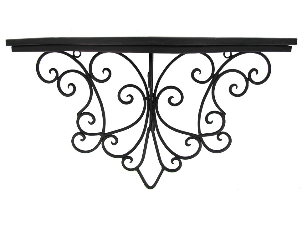 Wrought iron shelf clipart black and white Free Scroll Line Art, Download Free Clip Art, Free Clip Art ... black and white