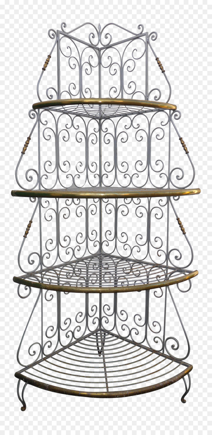 Wrought iron shelf clipart vector download Kitchen Cartoon clipart - Furniture, Metal, Line ... vector download