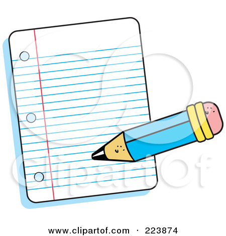 Wrting in notebook clipart clip art transparent library Pencil Writing In Notebook Clipart | Clipart Panda - Free ... clip art transparent library
