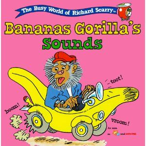 Wsi clipart windy clip free stock Bananas Gorilla\'s Sounds | Books | Richard scarry, Banana ... clip free stock
