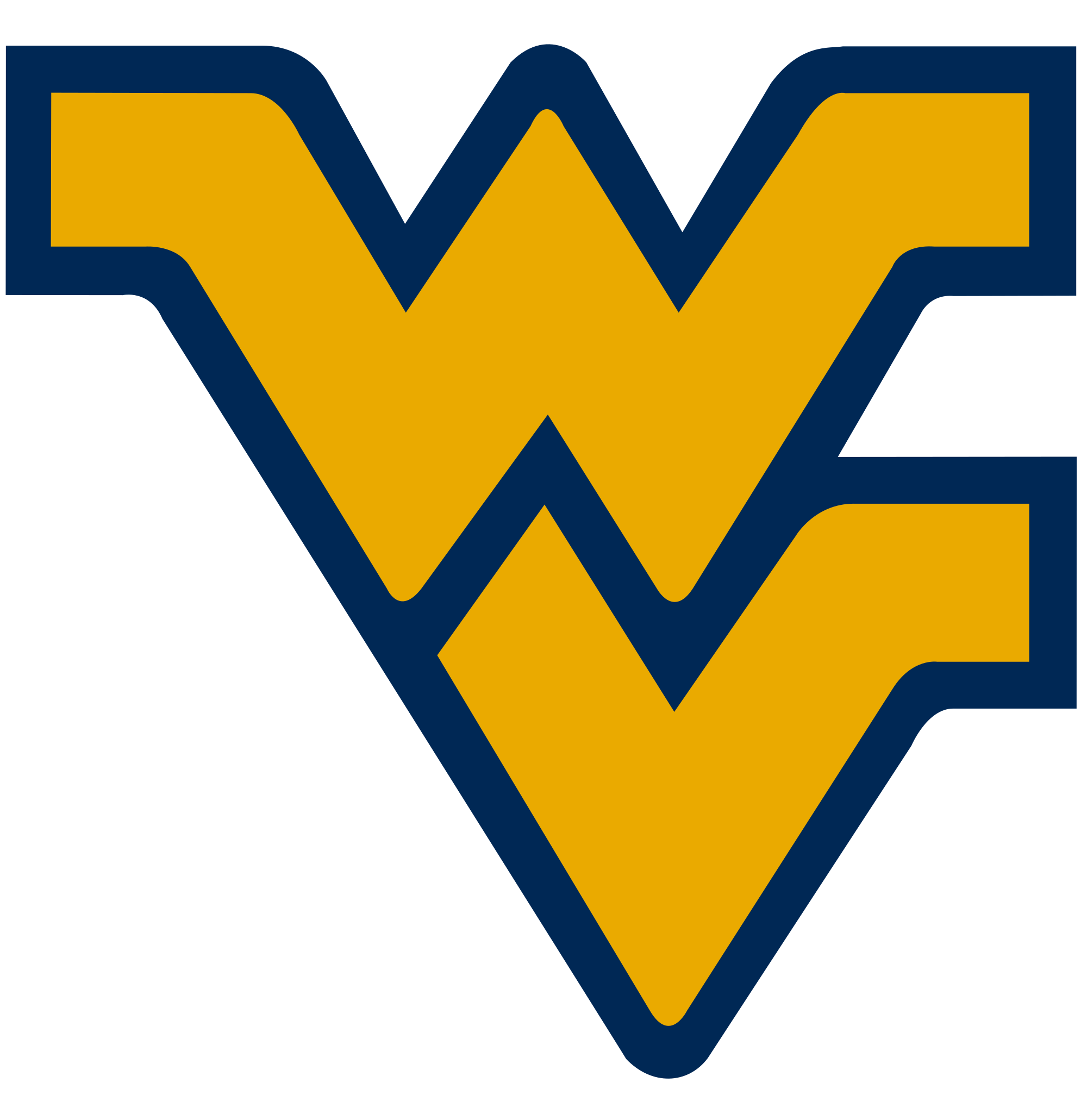 Wvu football clipart free stock File:West Virginia Mountaineers logo.svg - Wikimedia Commons free stock