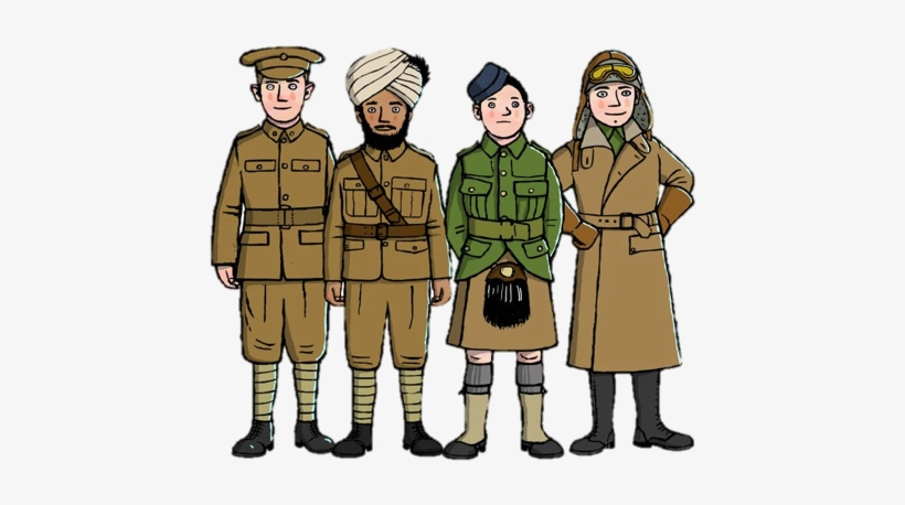 Ww1 british soldier clipart png library Ww1 British Soldier Drawing PNG Image | Transparent PNG Free ... png library