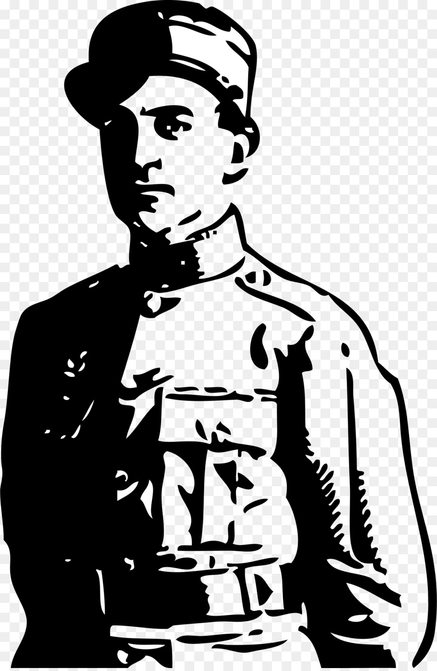 Ww1 clipart black and white clip art download Soldier Silhouette clipart - Soldier, War, Army, transparent ... clip art download
