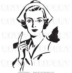 Ww1 clipart women picture library Nurse Clipart Black And White | Free download best Nurse ... picture library