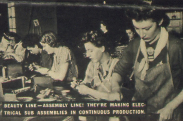 Ww1 clipart women factories picture library download World War II: Women on the Home Front | DPLA picture library download