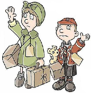 Ww2 evacuation clipart graphic free library The Heritage Hub — Lilliesleaf Primary School Workshop - The ... graphic free library
