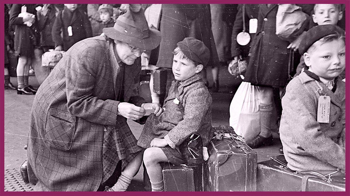 Ww2 evacuation clipart clip art royalty free download School Radio - Primary History KS2: World War 2 Clips, World ... clip art royalty free download