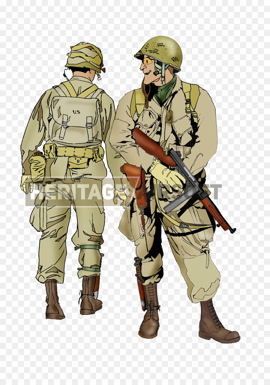 Ww2 paratrooper clipart image black and white library Person Cartoon clipart - Soldier, Uniform, Army, transparent ... image black and white library