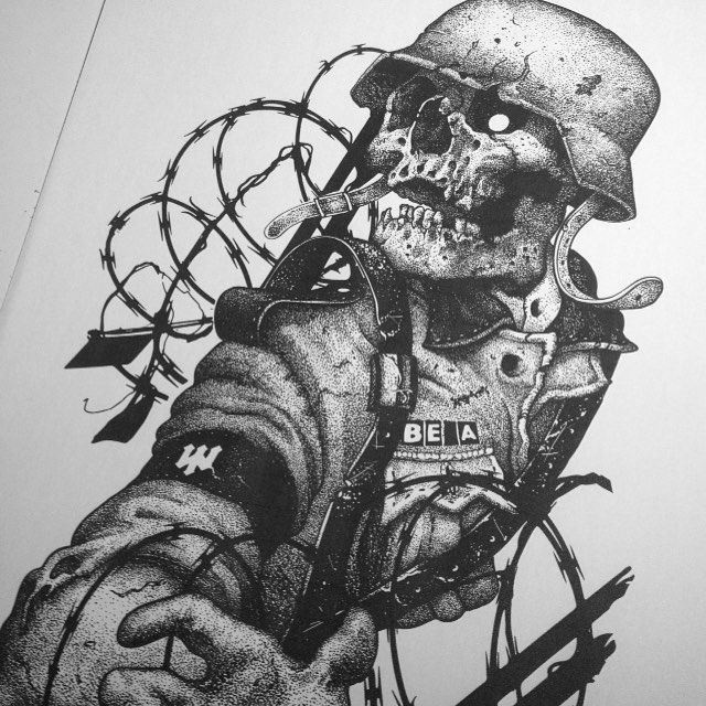 Ww2 skull clipart picture freeuse stock Ww2 Drawings at PaintingValley.com | Explore collection of ... picture freeuse stock