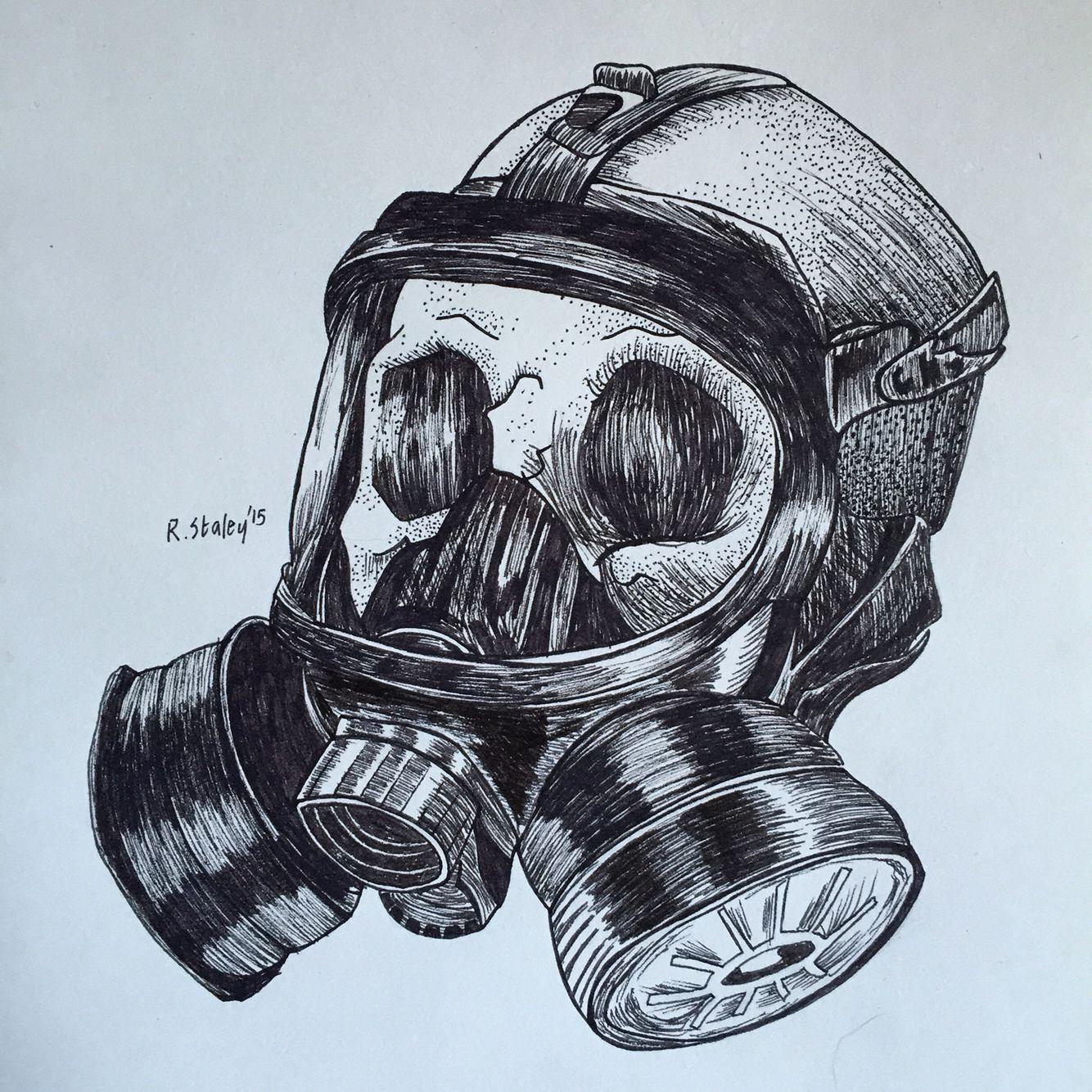 Ww2 skull clipart clip art download WW2 Gas Mask in Skull | Tattoo ideas in 2019 | Gas mask art ... clip art download