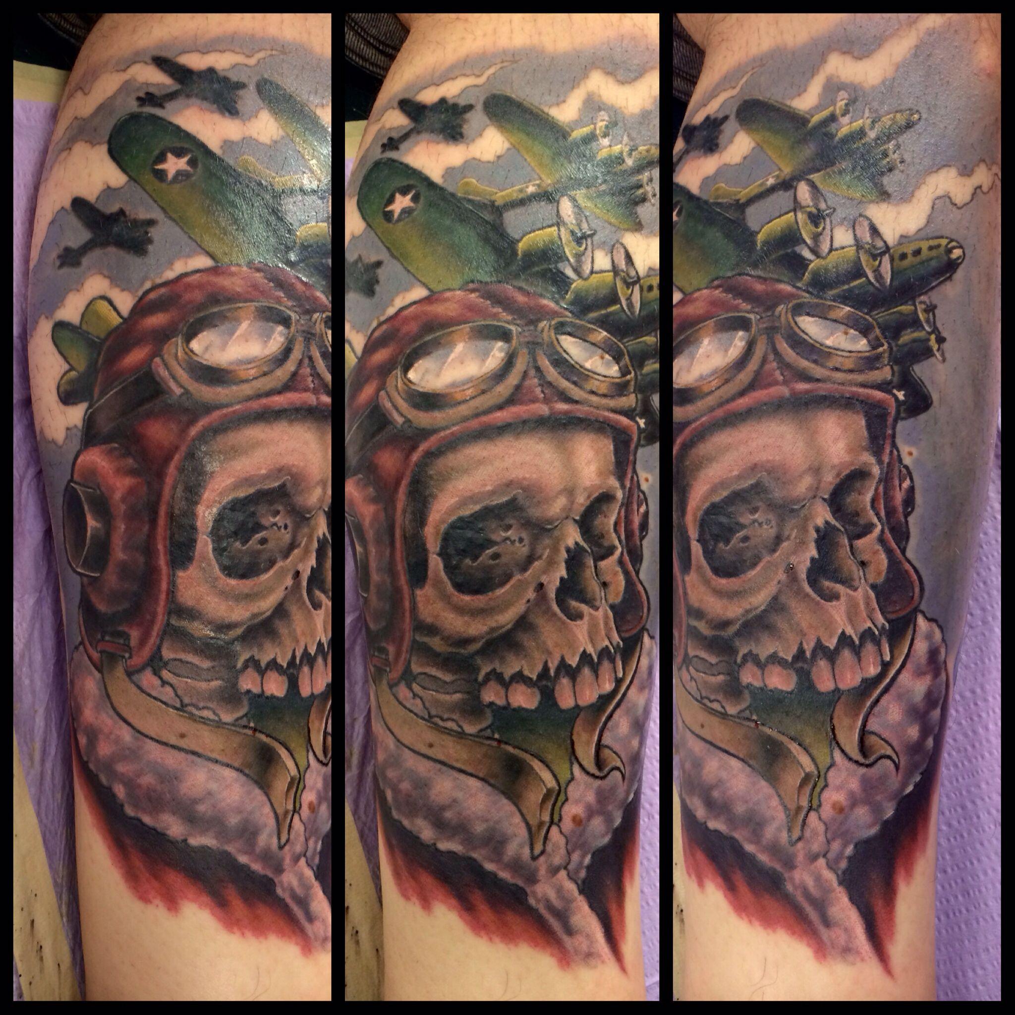 Ww2 skull clipart banner free stock WWII skull fighter pilot | Tattoos | Pilot tattoo, Pirate ... banner free stock