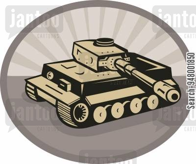 Ww2 tanks cartoon clipart picture black and white library world war 2 cartoons - Humor from Jantoo Cartoons picture black and white library