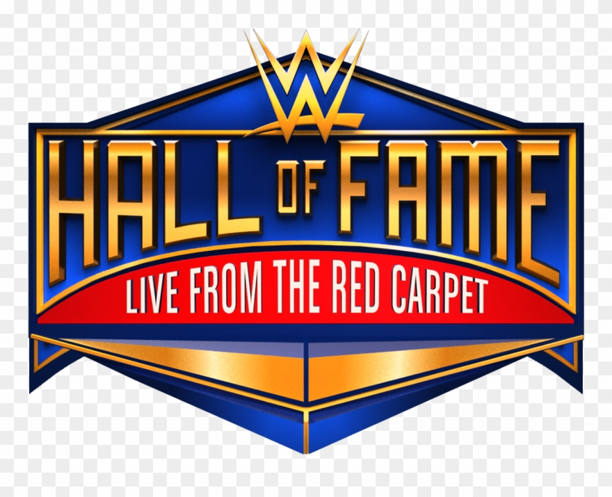 Wwe hall of fame logo clipart