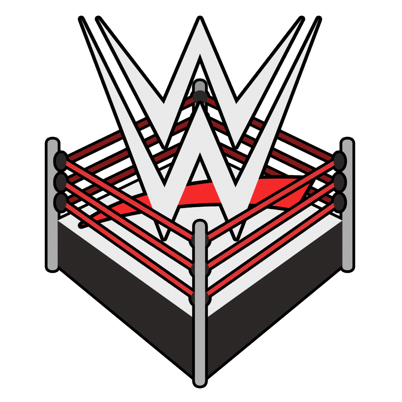 Wwe logo download clipart image black and white Download WWE Logo PNG Transparent Image - Free Transparent ... image black and white