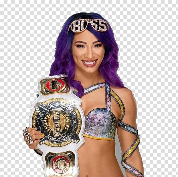 Wwe sasha banks clipart jpg royalty free Sasha Banks Women Tag Team Title transparent background PNG ... jpg royalty free