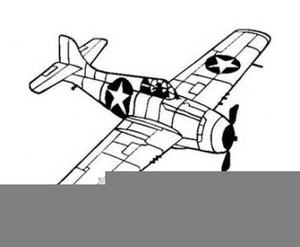 Wwii aircraft clipart p51 banner black and white stock Wwii Aircraft Clipart | Free Images at Clker.com - vector ... banner black and white stock