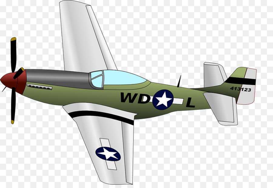 Wwii aircraft clipart p51 clip transparent stock Airplane Clipart png download - 960*650 - Free Transparent ... clip transparent stock