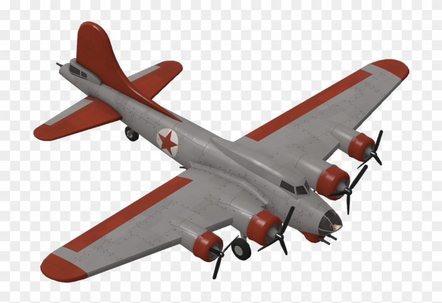 Wwii b-17 flying fortress clipart picture freeuse stock Bomber Plane - Boeing B-17 Flying Fortress Clipart (#616485 ... picture freeuse stock