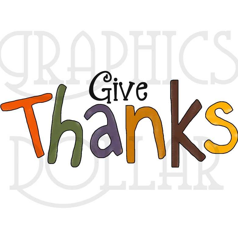 Www christian clipart give thanks freeuse stock Give Thanks – Thanksgiving Clip Art - Graphics Dollar freeuse stock