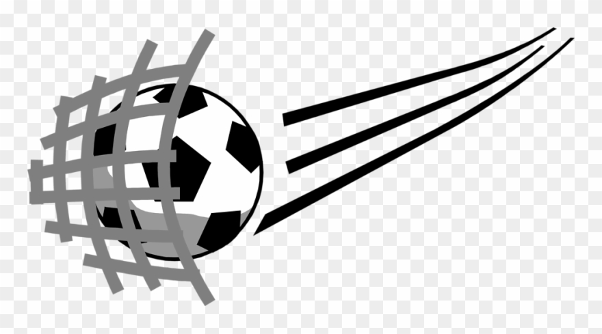 Www clipart net png royalty free download Soccer Ball Hitting Net Clipart (#755322) - PinClipart png royalty free download