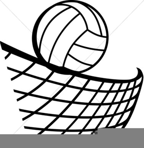 Volleyball vector clipart free graphic black and white stock Free Volleyball Net Clipart | Free Images at Clker.com ... graphic black and white stock