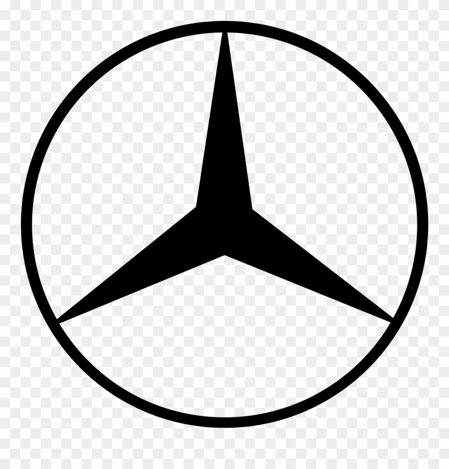 Www logo clipart png royalty free library Mercedes Benz Logo Transparent - Mercedes Benz Logo Clip Art ... png royalty free library