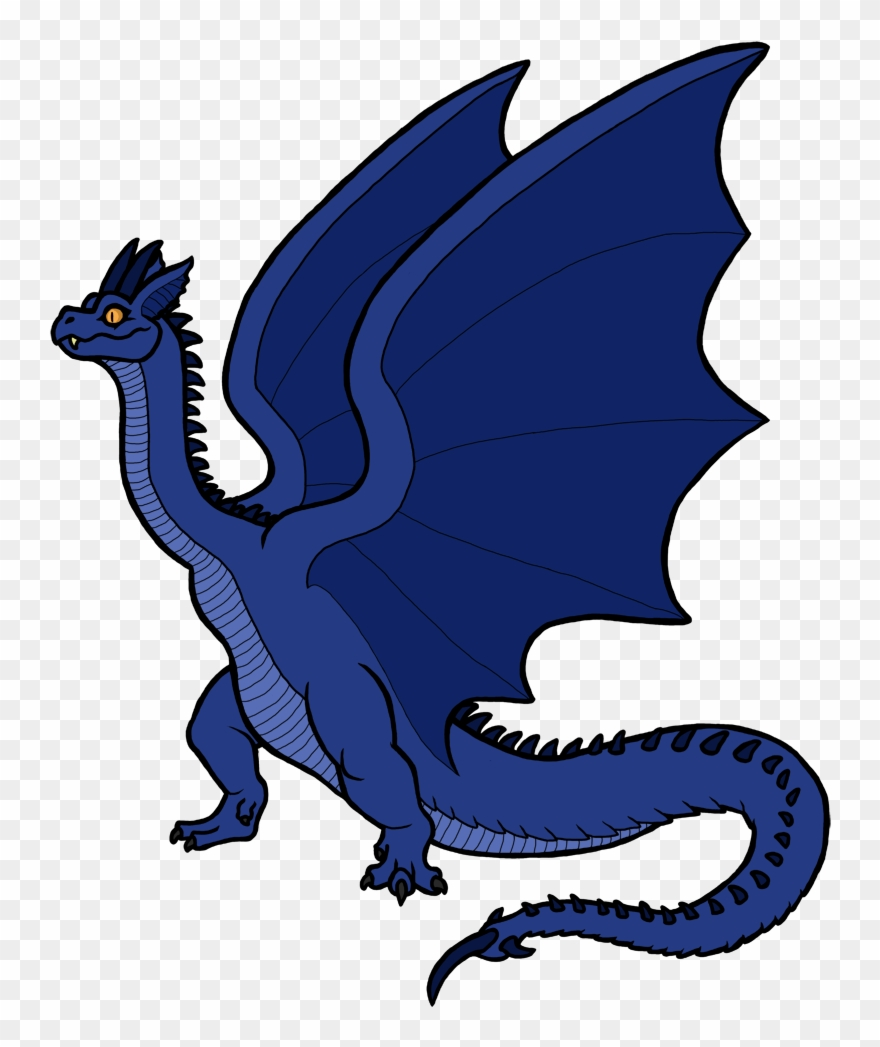 Wyvern clipart ext ong clip free library 5 Azure Wyvern - Clip Art - Png Download (#1439339) - PinClipart clip free library