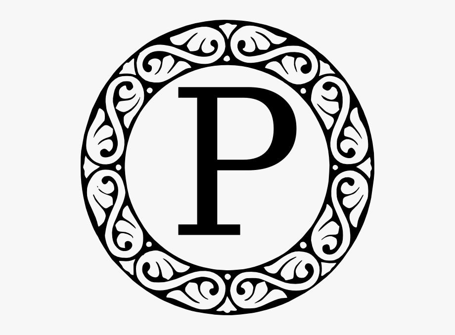 X clipart monogramh jpg download Monogram Letter P Svg Clip Arts 594 X 598 Px - P Monogram ... jpg download