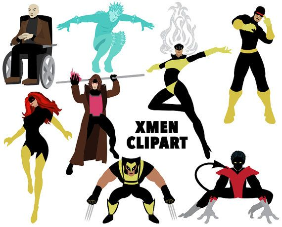 X men clipart