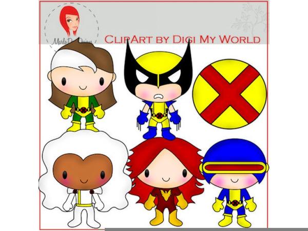 X men clipart vector freeuse download X Men Clipart | Free Images at Clker.com - vector clip art ... vector freeuse download