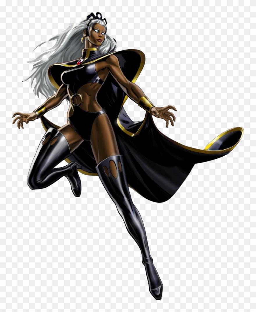 X men clipart graphic freeuse library Storm X Men Clipart - Storm Marvel Avengers Alliance - Png ... graphic freeuse library