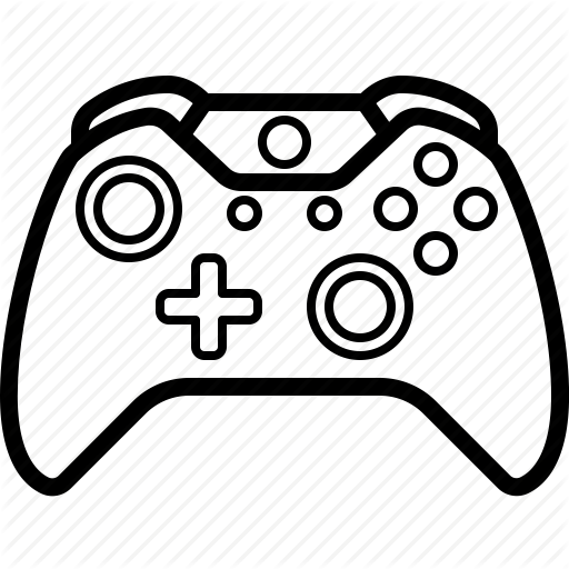 Xbox controller drawing clipart picture black and white stock Xbox One Controller Drawing at GetDrawings.com | Free for ... picture black and white stock