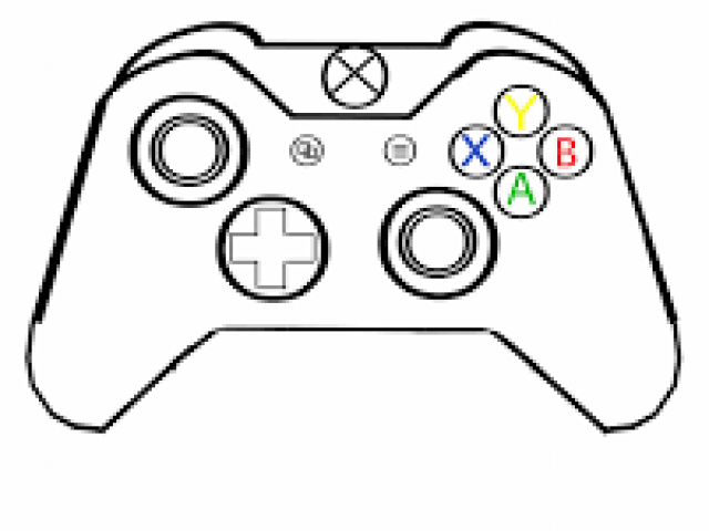 Xbox controller drawing clipart graphic transparent Xbox Controller Drawing | Free download best Xbox Controller ... graphic transparent