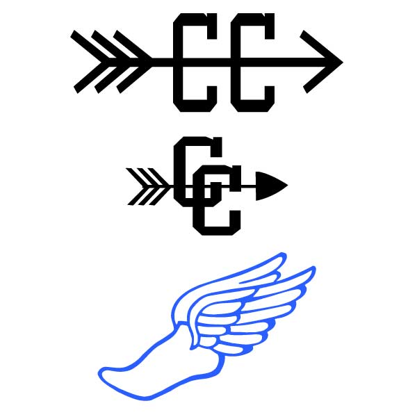 Xc clipart with arrow graphic free download Cross country shoe clip art - ClipartFest graphic free download
