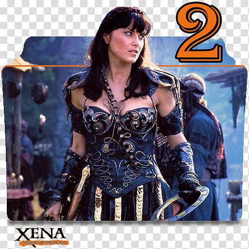 Xena clipart png free download Xena Warrior Princess series and season folder ico, Xena S ... png free download