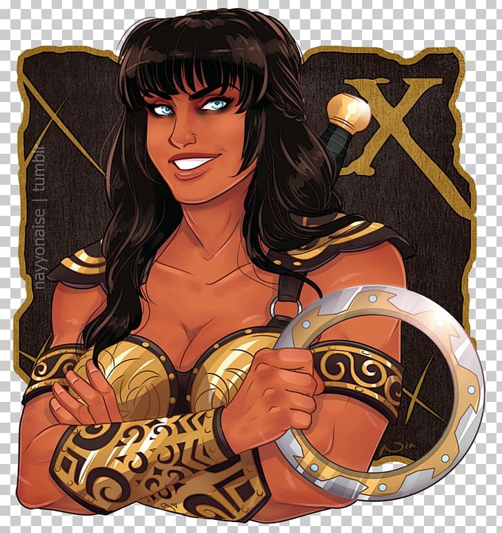 Xena clipart graphic black and white library Xena: Warrior Princess Gabrielle Drawing Character PNG ... graphic black and white library